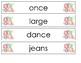 Pocket Chart Spelling January (Weeks 17-20)