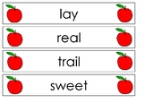 Pocket Chart Spelling September (Weeks 3-6)