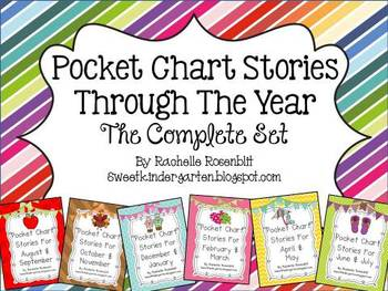 Pocket Chart Stories All Year Long