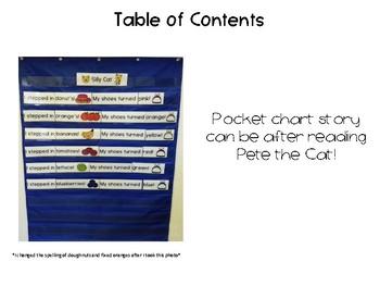 Pocket Chart Story