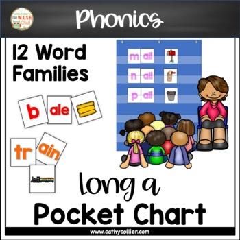 Pocket Chart Word Builders Set:  Long a
