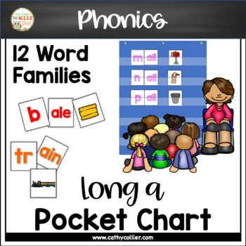 Pocket Chart Word Builders Set:  Long a