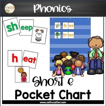 Pocket Chart Word Builders Set:  Long e