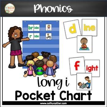 Pocket Chart Word Builders Set:  Long i