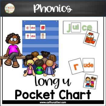 Pocket Chart Word Builders Set:  Long u
