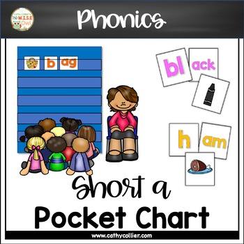 Pocket Chart Word Builders Set:  Short A