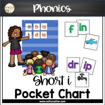 Pocket Chart Word Builders Set:  Short I