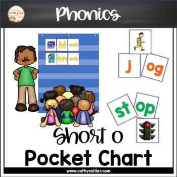 Pocket Chart Word Builders Set:  Short O