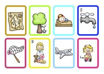 Pocket Chart Word Family Sort/Room Scoot