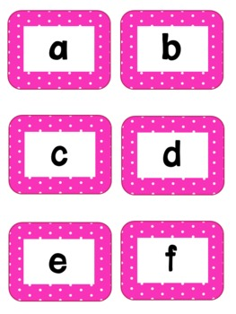 Pocket Chart Word Wall Work