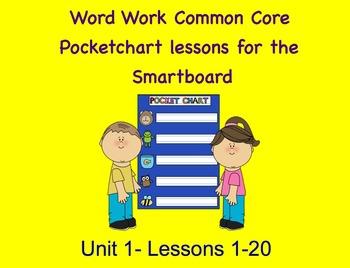 NYS Common Core ELA Skill Strand Unit 1 for First Grade (Smartboard)
