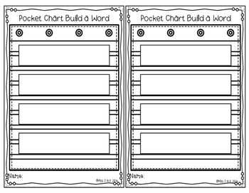 Pocket Chart Words: CVC Words