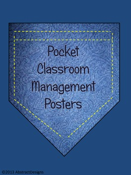 Pocket Classroom Management Posters