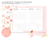 Pocket Dated Notes Traveler Notebook Refill