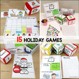 Pocket Dice Cards: Christmas Games
