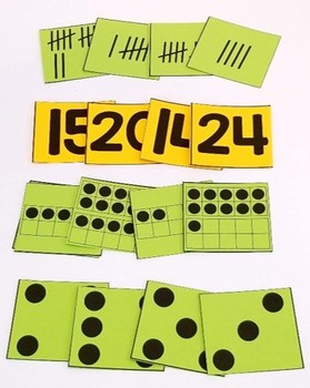 Pocket Dice Cards: Math