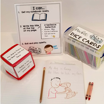 Pocket Dice Cards: Writing