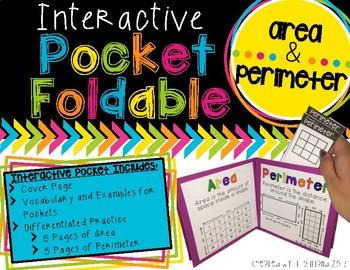 Pocket Foldable Area and Perimeter