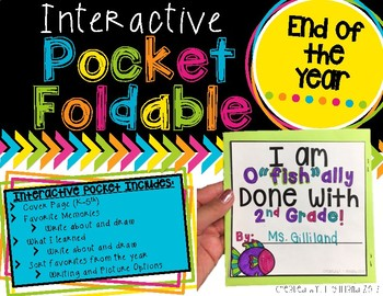 Pocket Foldable End of Year