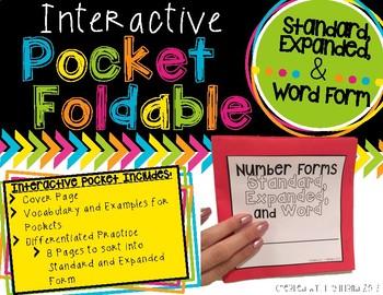 Pocket Foldable Number Forms