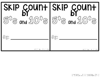 Pocket Foldable Skip Counting