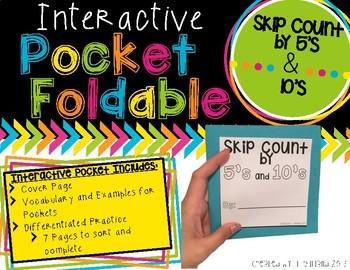 Pocket Foldable Skip Counting