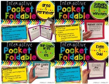 Pocket Foldables MATH BUNDLE