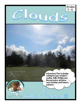 Clouds: Non-Fiction Literacy Center or Close Reading Pocket Folders