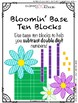 Pocket Folder Math Centers- Double Digit Subtraction with Base Ten Blocks
