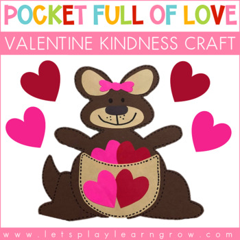 Pocket Full of Love: A Valentine Craft to Promote Kindness In the Classroom