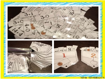 """Pocket Full of... Numbers"" A Number Name Workstation Activity"