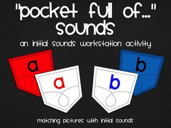 """Pocket Full of... Sounds"" An Initial Sounds Workstation Activity"