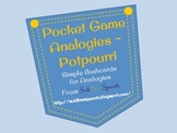 Pocket Game - Analogies - Potpourri