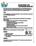 Create your own Pocket Guide to the Youth Criminal Justice