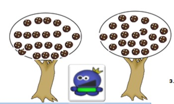 Pocket Monster Math: Cookie Picking to 100 ( No Print for Homeschoolers)
