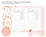 Pocket My Recipe Traveler Notebook Refill