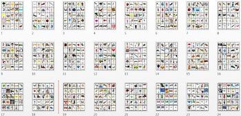 Pocket Picture Vocabulary Flash Cards 1-1000 BUNDLE Grades PK-2 + 100 Animations