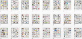 Pocket Picture Vocabulary Flash Cards 1-1000 BUNDLE Grades