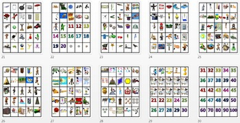 Pocket Picture Vocabulary Flash Cards 501-1000
