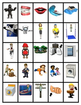 Pocket Picture Vocabulary Flash Cards 501-600