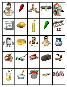 Pocket Picture Vocabulary Flash Cards 701-800
