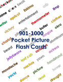 Pocket Picture Vocabulary Flash Cards 901-1000