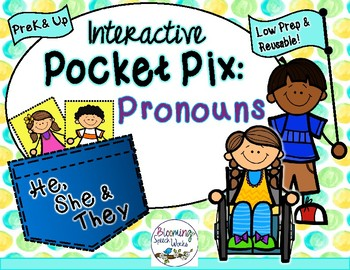 Pronouns: He, She, They Pocket Pix