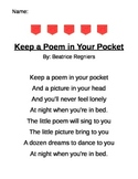 Pocket  Poem