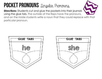 Pocket Pronouns: Singular Pronouns