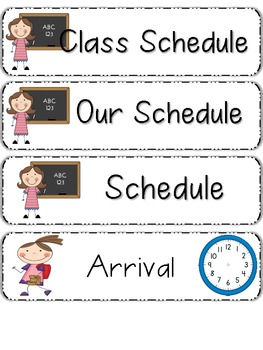 Pocket Schedule Cart