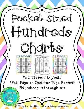 Pocket Sized Hundreds Charts