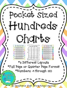 Pocket Sized Hundreds Charts
