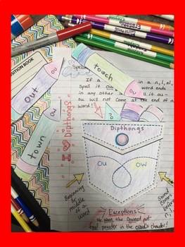 Pocket Spelling- Interactive Notebook