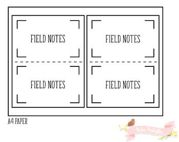 Pocket Squared Notes Traveler Notebook Refill